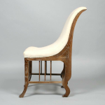 Reproduction limed oak side chairs