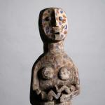An African wooden sculpture 20th century