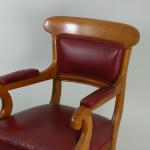 A 19th century armchair