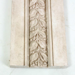 A set of four 19th century plaster panels