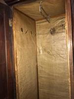 A Regency mahogany wardrobe