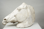 Plaster Horse Head