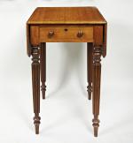 19th century oak side table