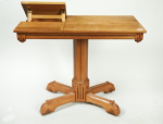 Charles Bevan (attributed), a Gothic Revival oak reading desk