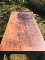 18th century mahogany serving table