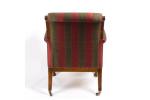 Regency rosewood armchair, in the manner of Morel & Seddon
