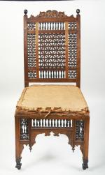 Late 19th century Liberty Mashrabiya Chair