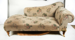 A large 20th century antique Victorian style chaise longue