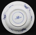 Ribbed Kangxi plate