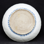 Kraak plate with translucent decoration
