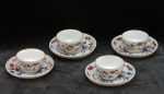 Miniature teabowls and saucers