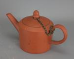 English terracotta teapot